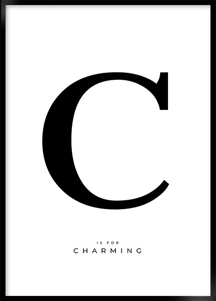 Posters - Letter C