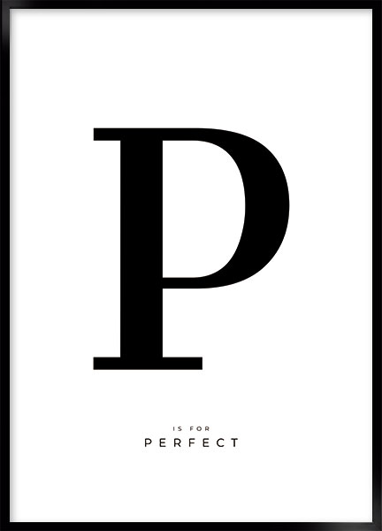 Posters - Letter P