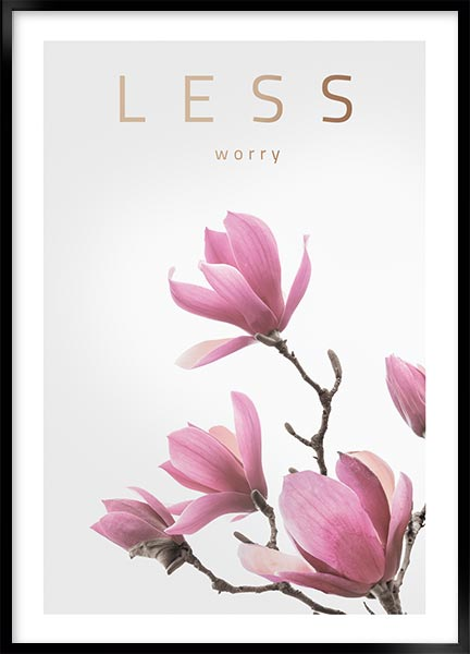 Posters - Less