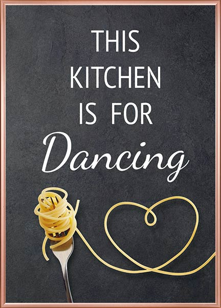 Posters - Kitchen dancing