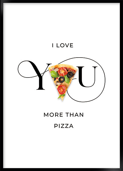 Posters - Pizza love