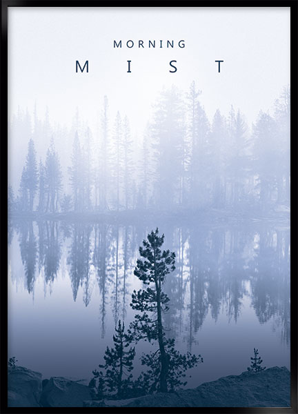 Posters - Morning mist