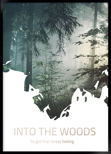 Posters - Into the woods
