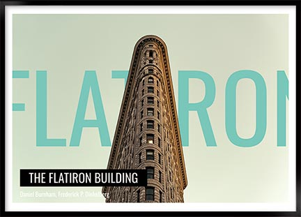 Posters - Flatiron building