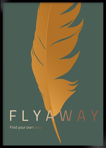 Posters - Fly away