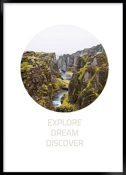 Posters - Explore dream discover