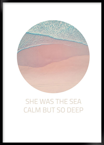 Posters - She was the sea
