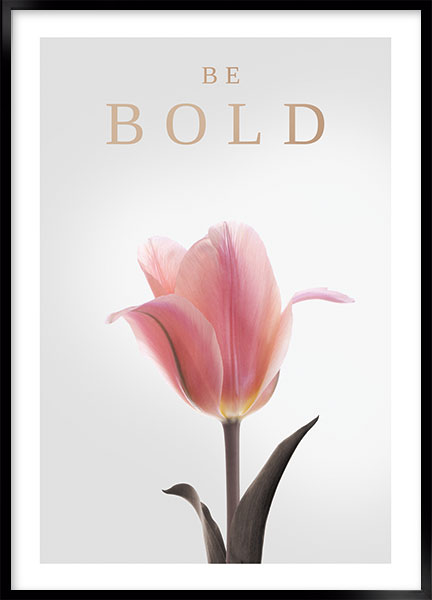 Posters - Be bold