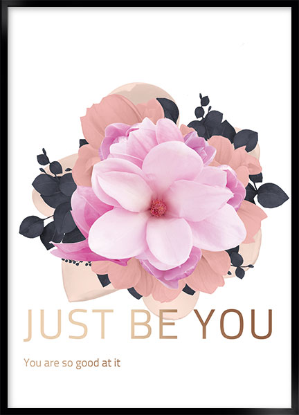 Posters - Just be you
